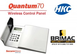 Brimac Security Limited have been appointed agents of the renowned HKC new  Quantum70 Wireless alarm systems.  The Quantum is a fully integrated, wireless control panel using HKC's SecureWave, two-way technology